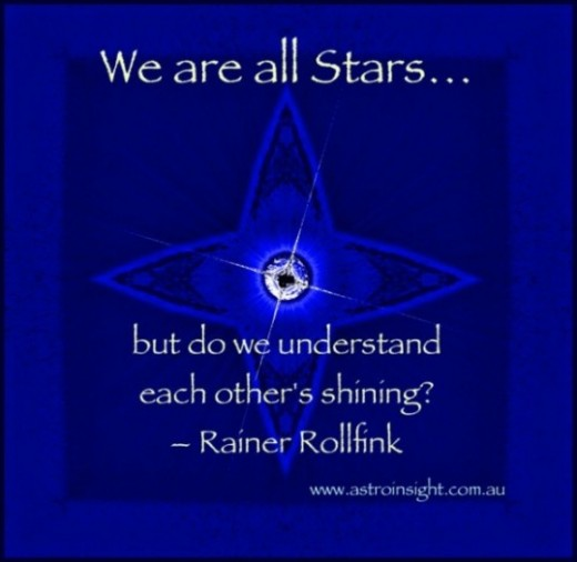 We are all Stars quote by Rainer Rollfink
